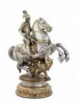 San Giorgio e il drago, Hans Koch, 1600, argento, Schweizerisches National Museum_intero   bd.jpg