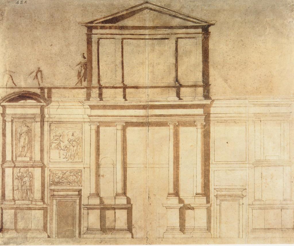 Michelangelo architetto arte senza confini for Disegni e prezzi della casa