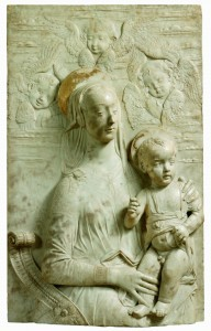 Domenico Rosselli,  Virgin and Child; (1439-1498), V&A, inv. n. 7591-1861